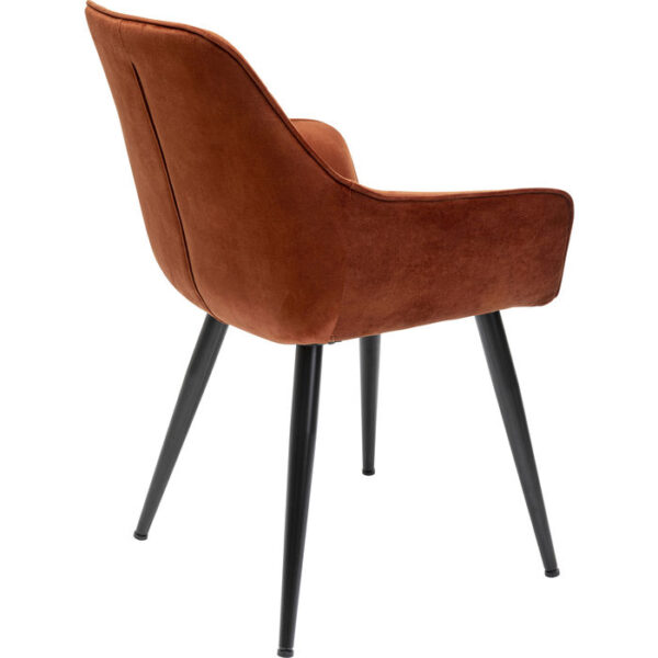 Kare Design Armstoel Harry Rust Red armstoel 85535 - Lowik Meubelen