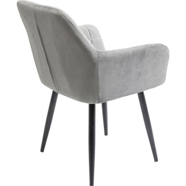 Kare Design Armstoel Kim Grey armstoel 85532 - Lowik Meubelen