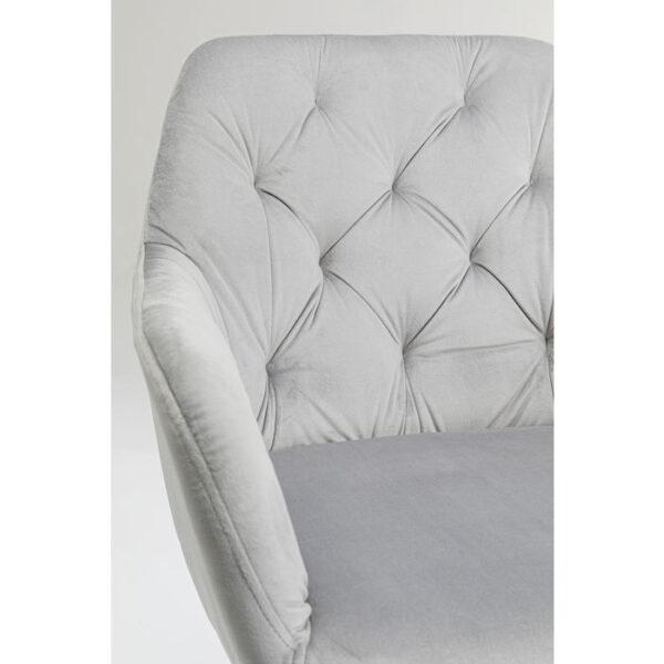 Kare Design Armstoel Kira Grey armstoel 85531 - Lowik Meubelen
