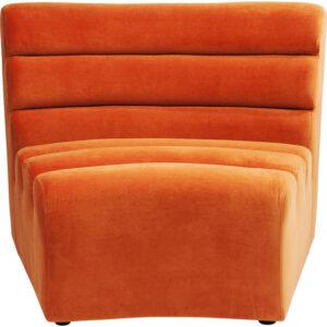 Kare Design Bank Element Wave Orange bank 83664 - Lowik Meubelen