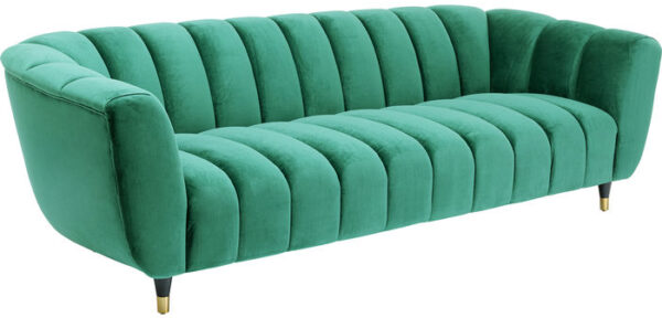 Kare Design Bank Spectra 3-zitsbank Green bank 85225 - Lowik Meubelen