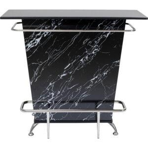 Kare Design Bar Lady Rock Marble Look Black bar 85388 - Lowik Meubelen