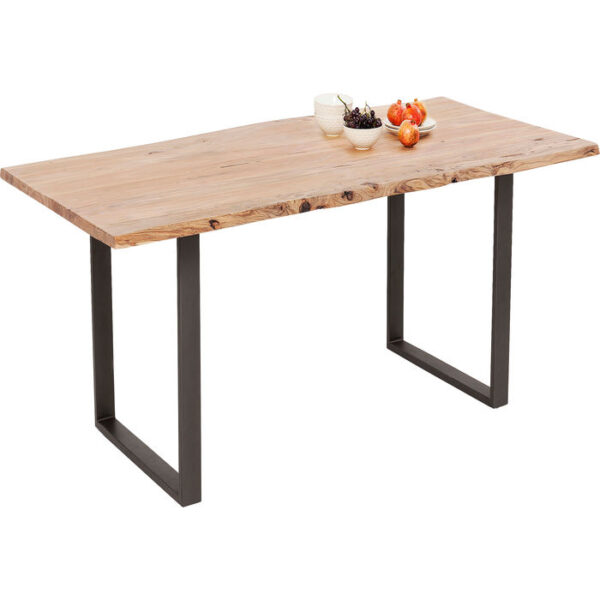 Kare Design Bar Table Harmony Acacia Crude Steel 160x80cm bar 84940 - Lowik Meubelen