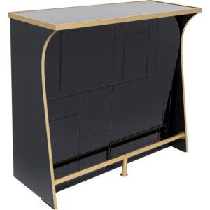 Kare Design Bar Trapani Black bar 85353 - Lowik Meubelen