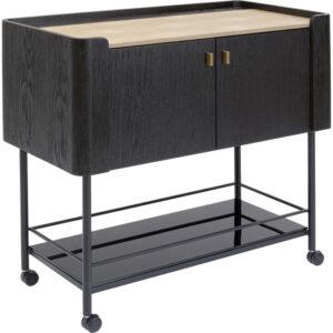 Kare Design Bar Trolley Milano 93x96 bar 85335 - Lowik Meubelen