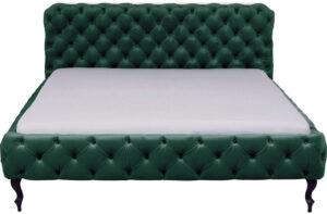Kare Design Bed Desire Velvet Green 160x200cm bed 85669 - Lowik Meubelen