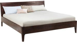 Kare Design Bed Wood Brooklyn Walnut 180x200cm bed 81967 - Lowik Meubelen