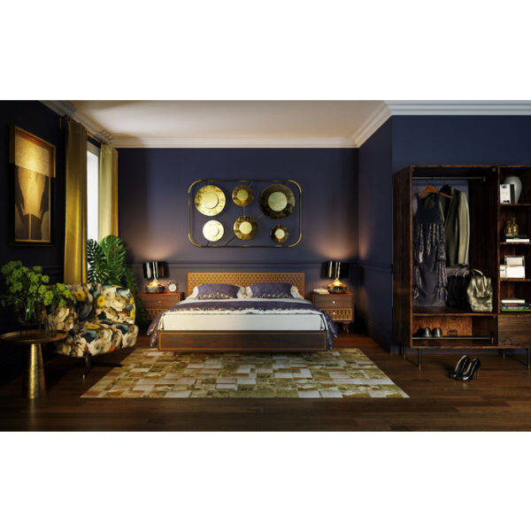 Kare Design Bed Wood Muskat 160x200 bed 85339 - Lowik Meubelen