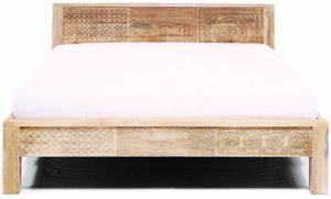 Kare Design Bed Wood Puro High 180x200 bed 85342 - Lowik Meubelen