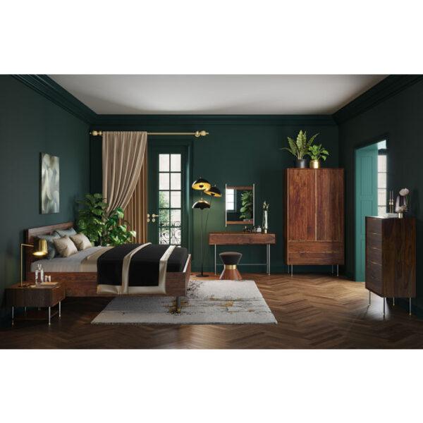 Kare Design Bed Wood Ravello 160x200 bed 85517 - Lowik Meubelen