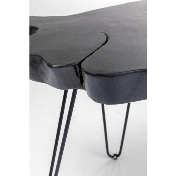 Kare Design Bijzettafel Aspen Black 50x50 bijzettafel 85269 - Lowik Meubelen
