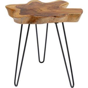 Kare Design Bijzettafel Aspen Nature 50x50 bijzettafel 85295 - Lowik Meubelen