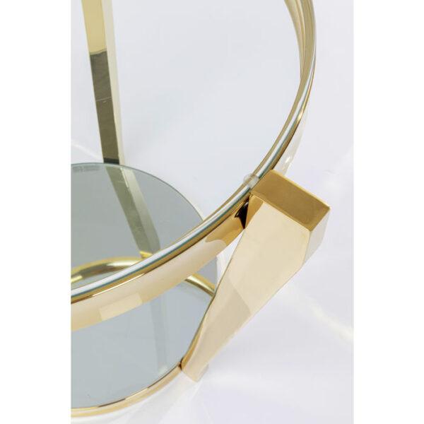Kare Design Bijzettafel Monocolo Ggold - Ø50 bijzettafel 85366 - Lowik Meubelen