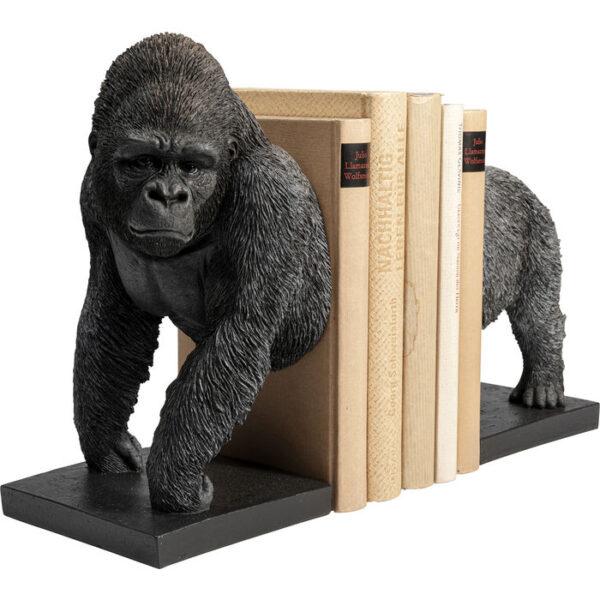 Kare Design Boekensteun Gorilla - (2/Set) boekensteun 52871 - Lowik Meubelen