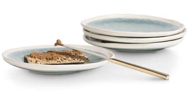 COCO maison Amalfi set van 4 borden D21cm  Woonaccessoire