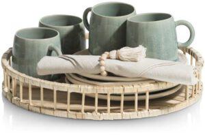 COCO maison Bamboo dienblad D36cm  Woonaccessoire