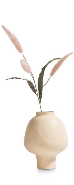 COCO maison Cleo vaas H32cm - roze  Woonaccessoire