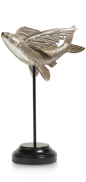 COCO maison Flying Fish beeld H29cm  Woonaccessoire