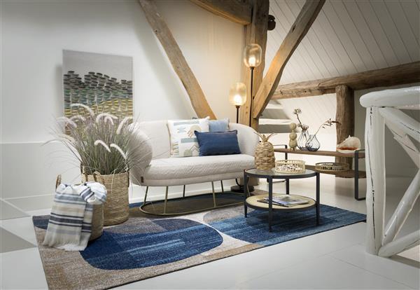 COCO maison Hamptons plaid 130x170cm  Plaid