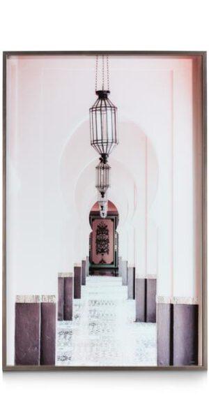 COCO maison Moroccan Arches fotoschilderij 90x140cm  Schilderij