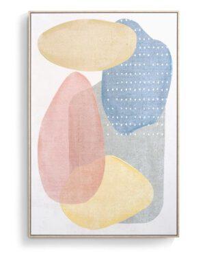 COCO maison Pastels schilderij 80x120cm  Schilderij