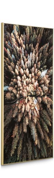 COCO maison Pine Woods fotoschilderij 80x150cm  Schilderij