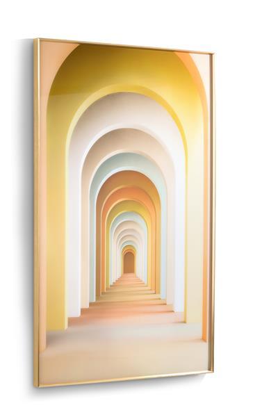 COCO maison Rainbow Arches print 90x140cm  Schilderij