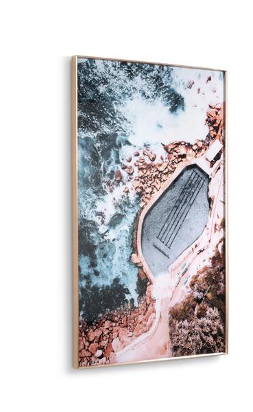 COCO maison Rockpool print 90x140cm  Schilderij