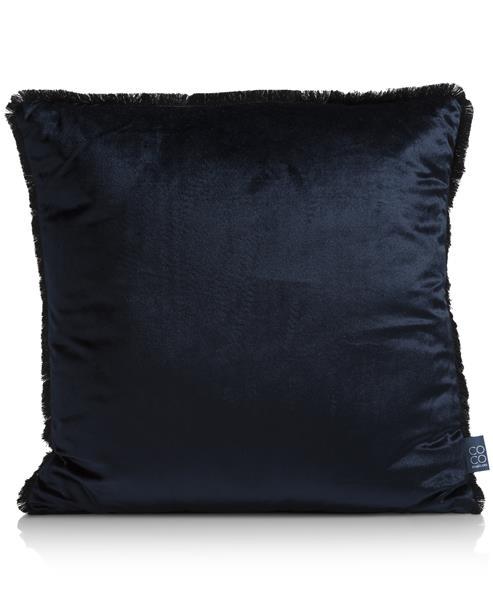 COCO maison Siri kussen 45x45cm - donker blauw  Sierkussen