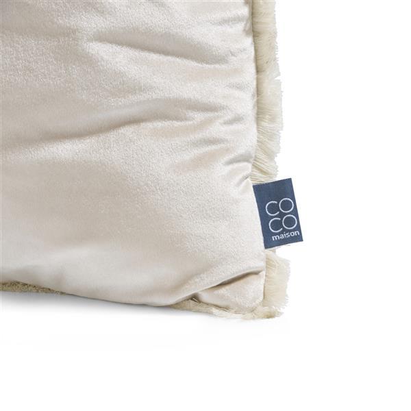 COCO maison Siri kussen 45x45cm - wit  Sierkussen