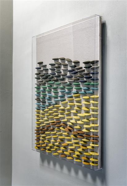 COCO maison Stones schilderij 70x90cm  Schilderij