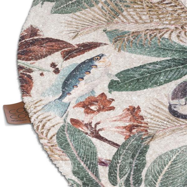 COCO maison Summer Jungle karpet D150cm  Vloerkleed