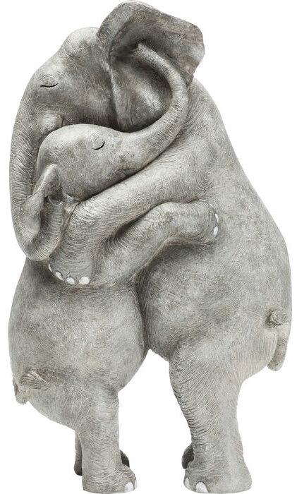 Kare Design Deco Beeld Elephant Hug deco 61603 - Lowik Meubelen