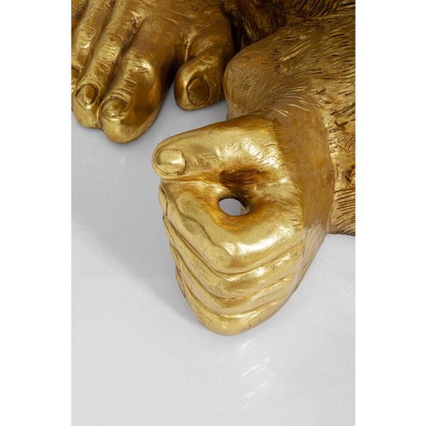 Kare Design Deco Beeld Gorilla Gold XL 180 deco 52577 - Lowik Meubelen