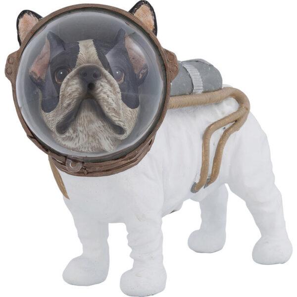 Kare Design Deco Beeld Space Dog 21cm deco 61568 - Lowik Meubelen
