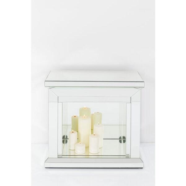 Kare Design Deco Fireplace Crystal 71x70cm deco 85546 - Lowik Meubelen