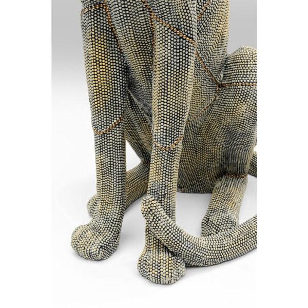 Kare Design Deco Object Sitting Leopard Pearls 64 deco 52676 - Lowik Meubelen