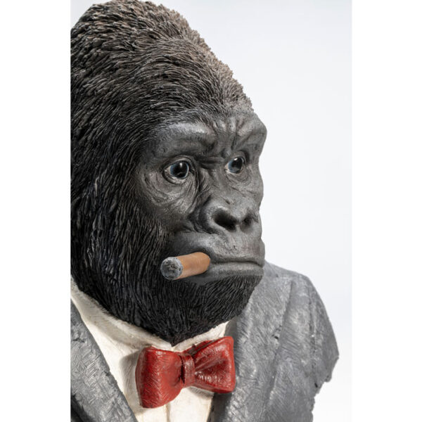 Kare Design Deco Object Smoking Gorilla deco 52875 - Lowik Meubelen