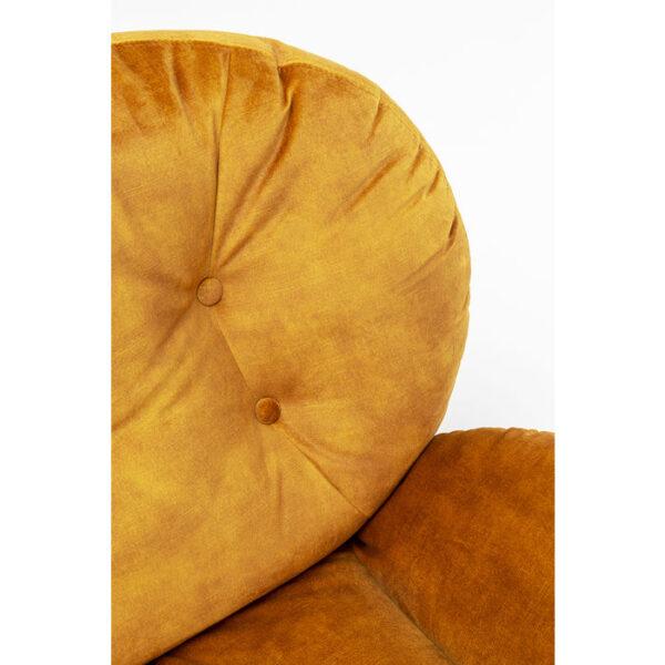 Kare Design Draaifauteuil Cosy Amber draaifauteuil 85528 - Lowik Meubelen