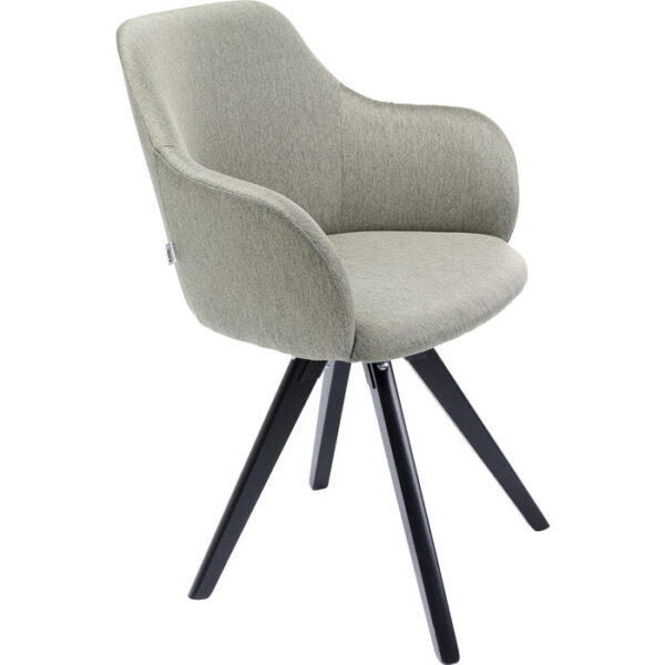 Kare Design Draaifauteuil Lady Loco Green draaifauteuil 85251 - Lowik Meubelen