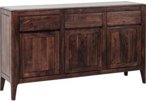 Kare Design Dressoir Brooklyn Walnut dressoir 81272 - Lowik Meubelen
