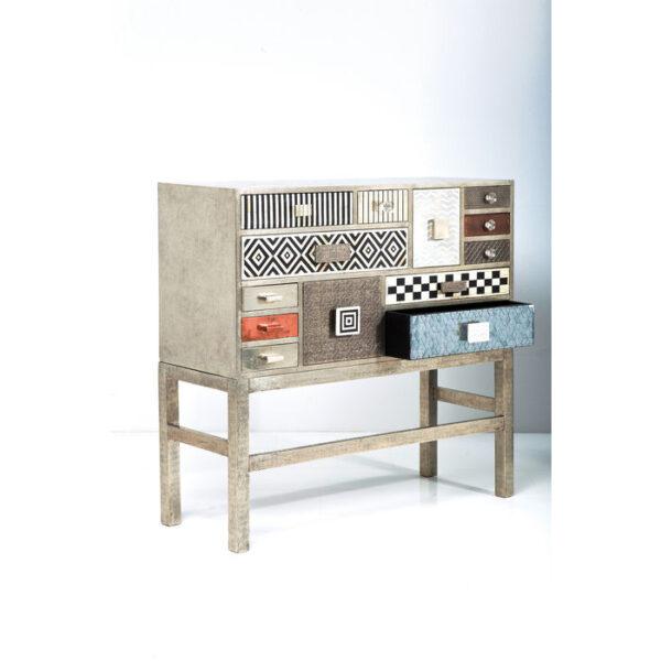 Kare Design Dressoir Hoog Chalet 13 Drawers dressoir 76815 - Lowik Meubelen