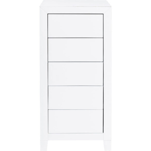 Kare Design Dressoir Hoog Luxury Push 5 Drawers White dressoir 85400 - Lowik Meubelen