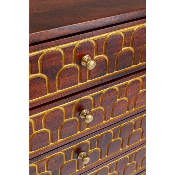 Kare Design Dressoir Hoog Muskat 6 Drawers dressoir 85228 - Lowik Meubelen