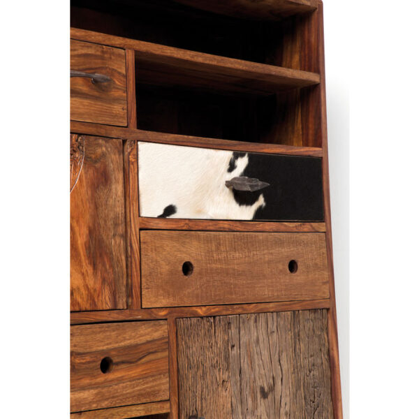 Kare Design Dressoir Hoog Rodeo 3 Doors, 8 Drawers dressoir 78336 - Lowik Meubelen