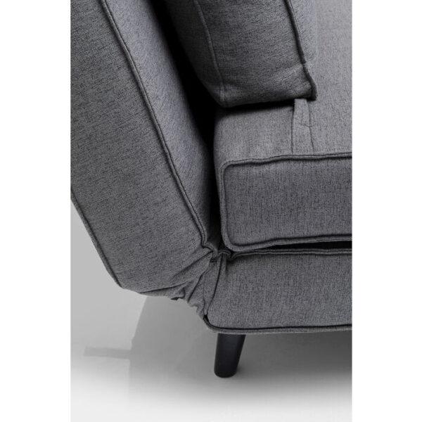 Kare Design Fauteuil Bonnie Grau fauteuil 85598 - Lowik Meubelen
