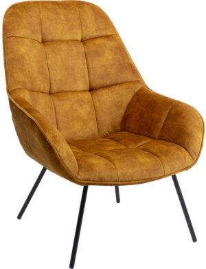 Kare Design Fauteuil Dave Amber fauteuil 85529 - Lowik Meubelen