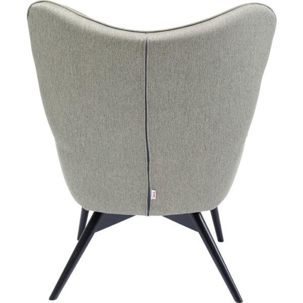 Kare Design Fauteuil Vicky Loco Green fauteuil 85254 - Lowik Meubelen