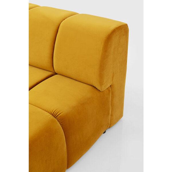 Kare Design Hoekbank Belami Amber Left hoekbank 85497 - Lowik Meubelen