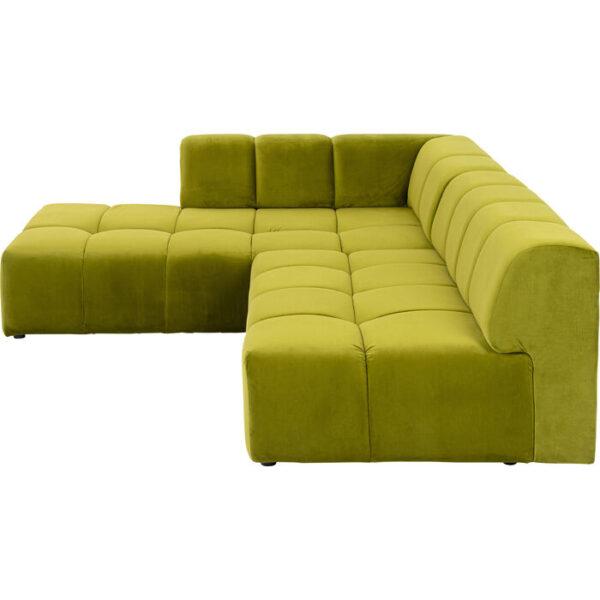 Kare Design Hoekbank Belami Green Left hoekbank 85495 - Lowik Meubelen